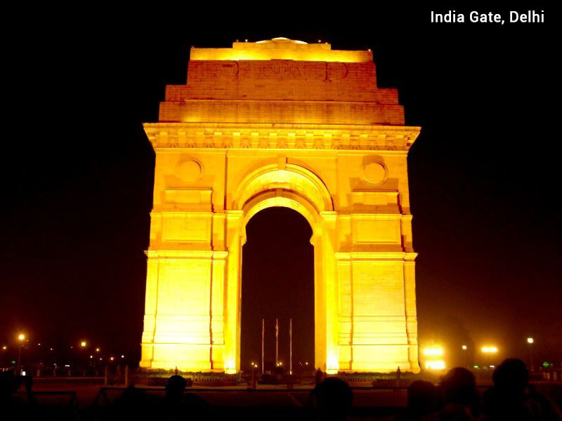 Golden triangle with Heritage of India