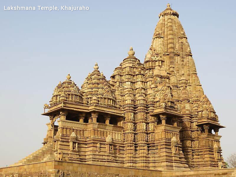 Romantic India with exotic Khajuraho temples