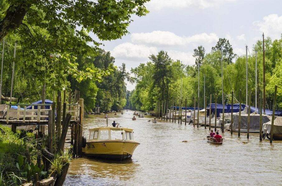 Tigre Boat Ride in Buenos Aires