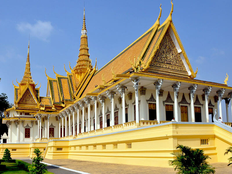 Siem Reap & Phnom Penh Tour Package 6 Nights / 7 Days