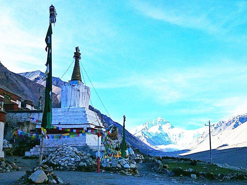 Shigatse - Rongbuk Monastery