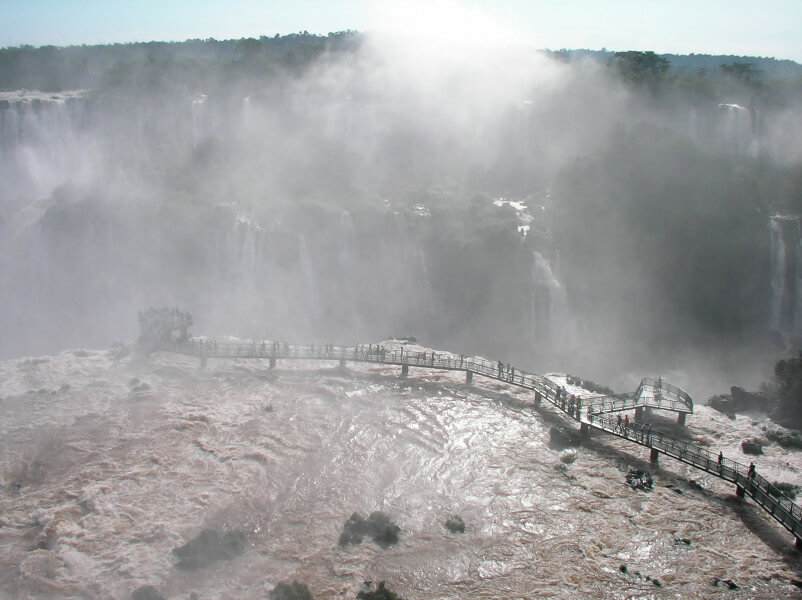 Classic Iguazu Falls