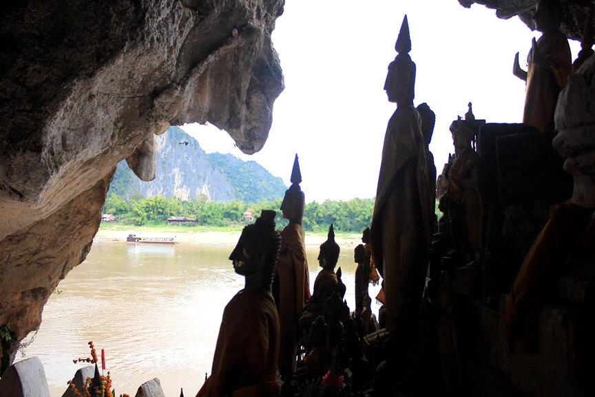 Mekong River cruise - Pak Ou Cave