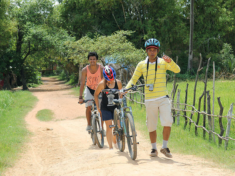 Siem Reap Cycling Adventure Tour 4 Nights / 5 Days