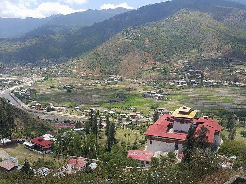 Paro Arrival Transfer to Thimphu