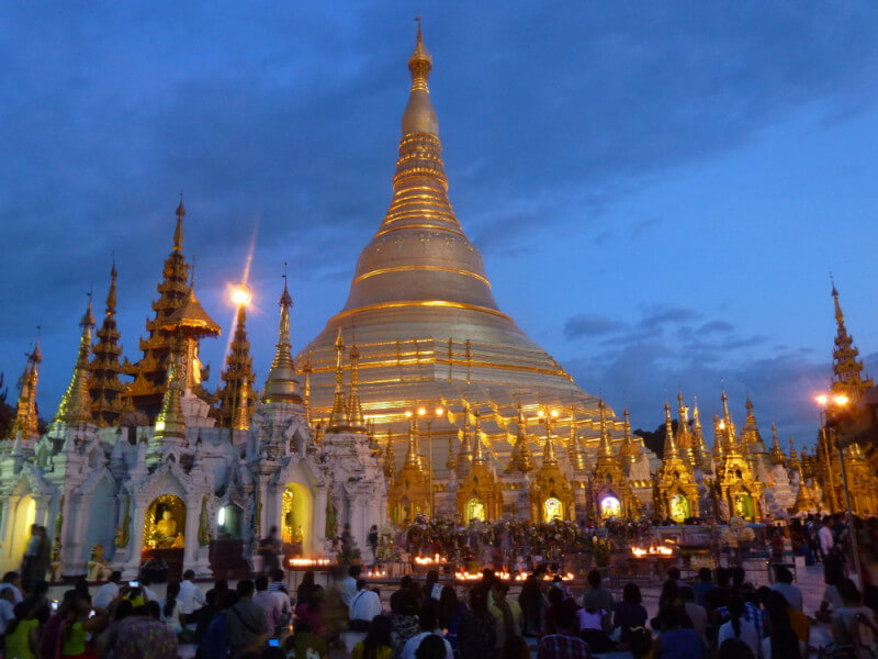 Historic capitals of Myanmar 5 D/4 N