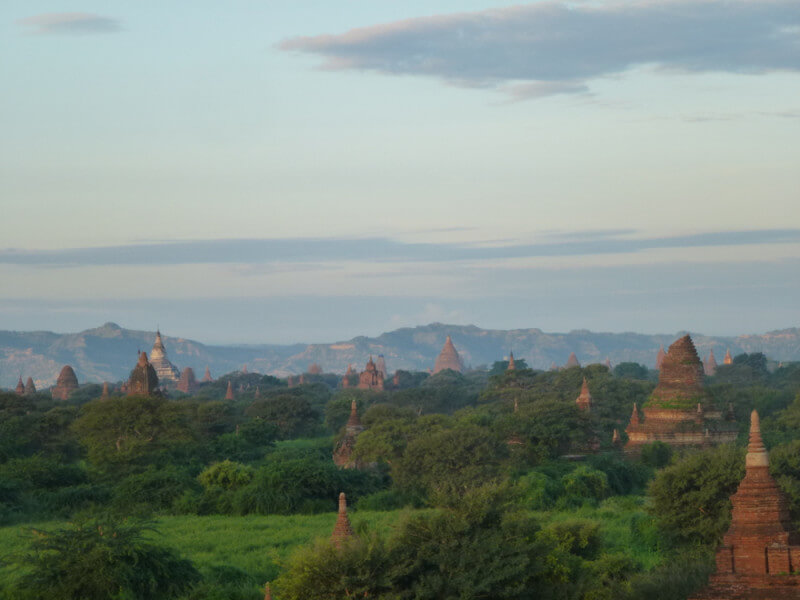 Myanmar National heritages tour 5 D/4 N