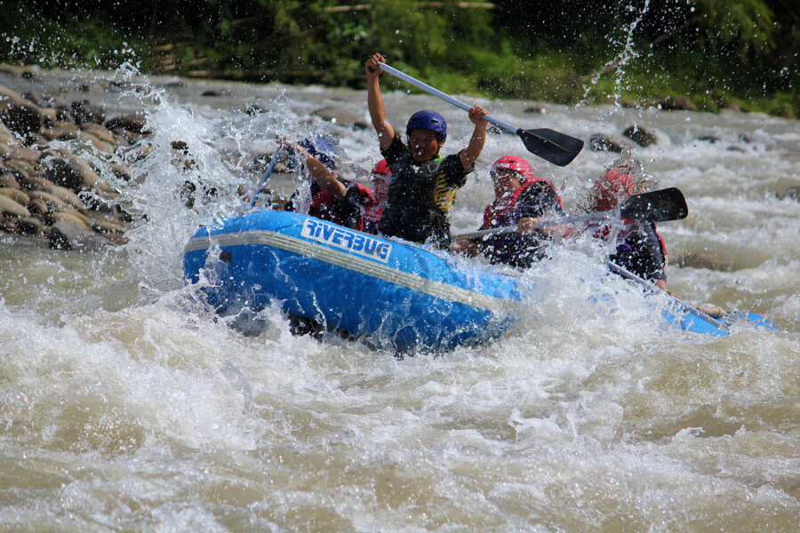 Kiulu River Rafting
