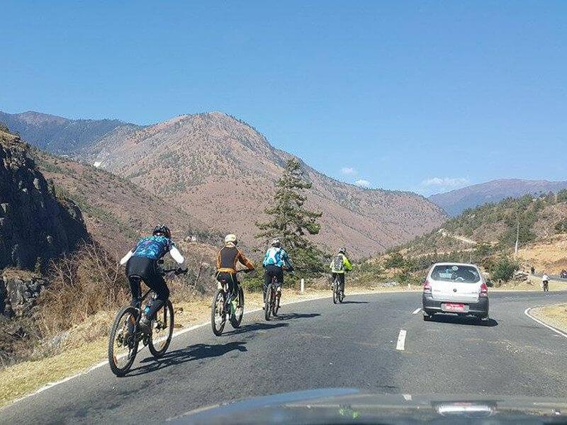 Bhutan Cycling Tour
