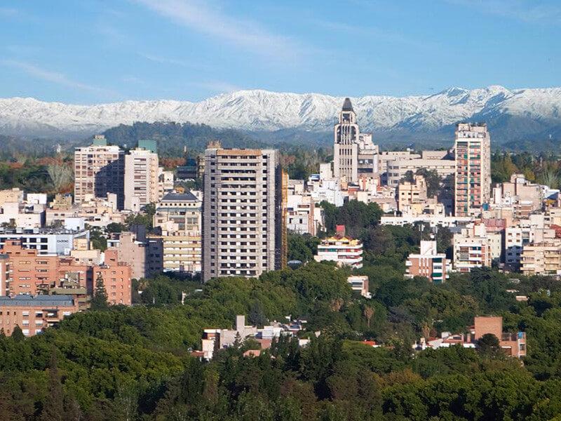 Arrive in Mendoza