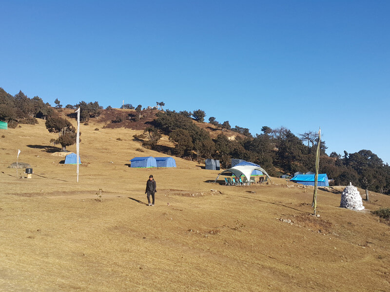 Paro to Bumdra, start of Trek