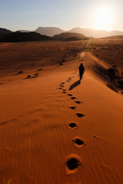 10 day hiking Jordan's Nature Reserves