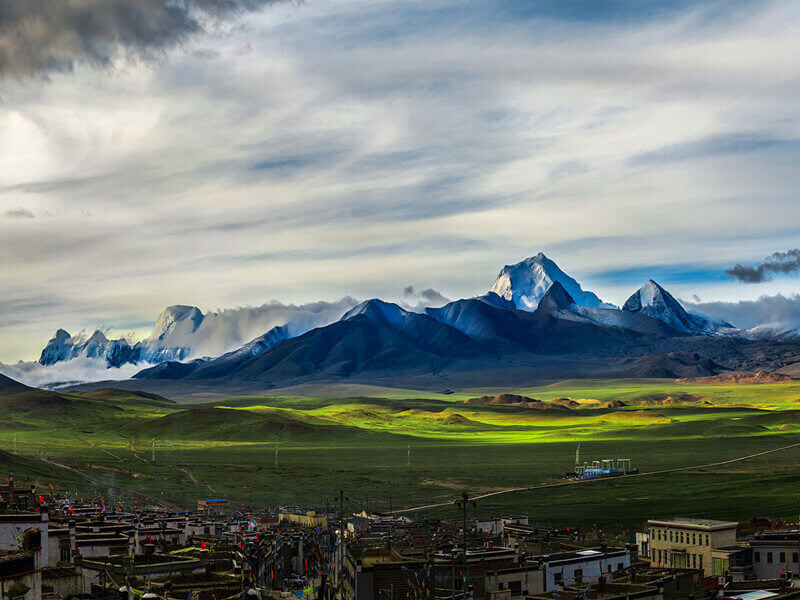 Departure from Lhasa