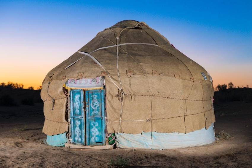Bukhara – Yurts camp of Nurata