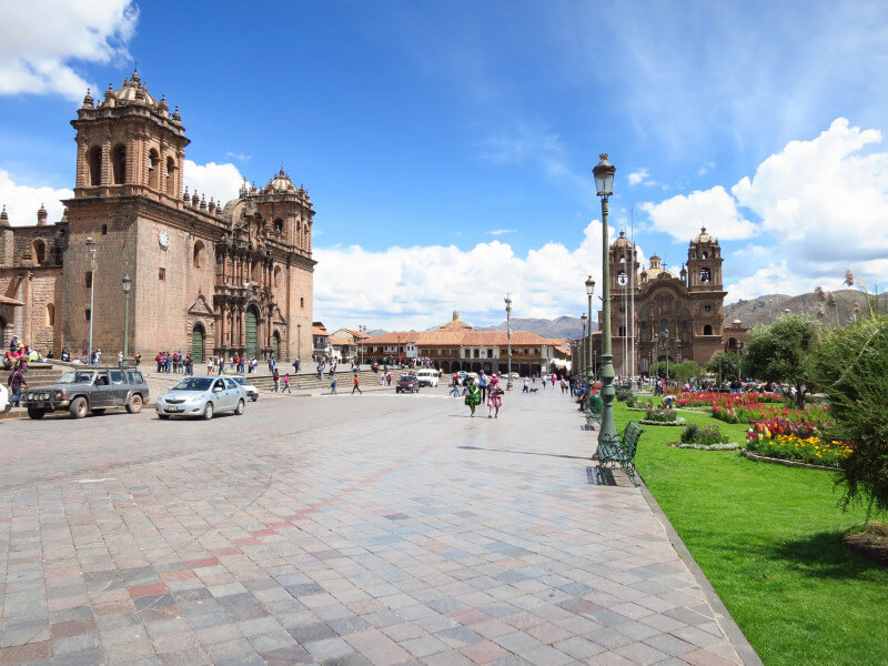 Arrive in Cusco