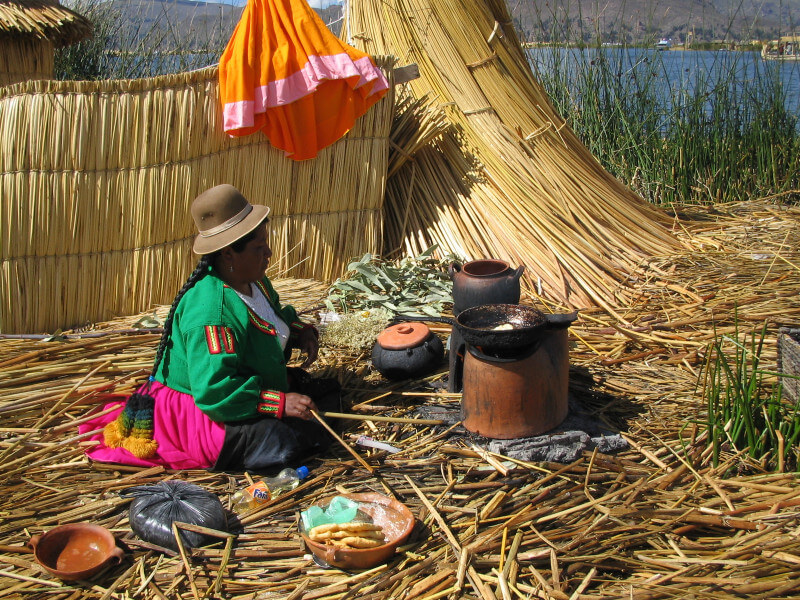 On the way to Puno and Lake Titicaca