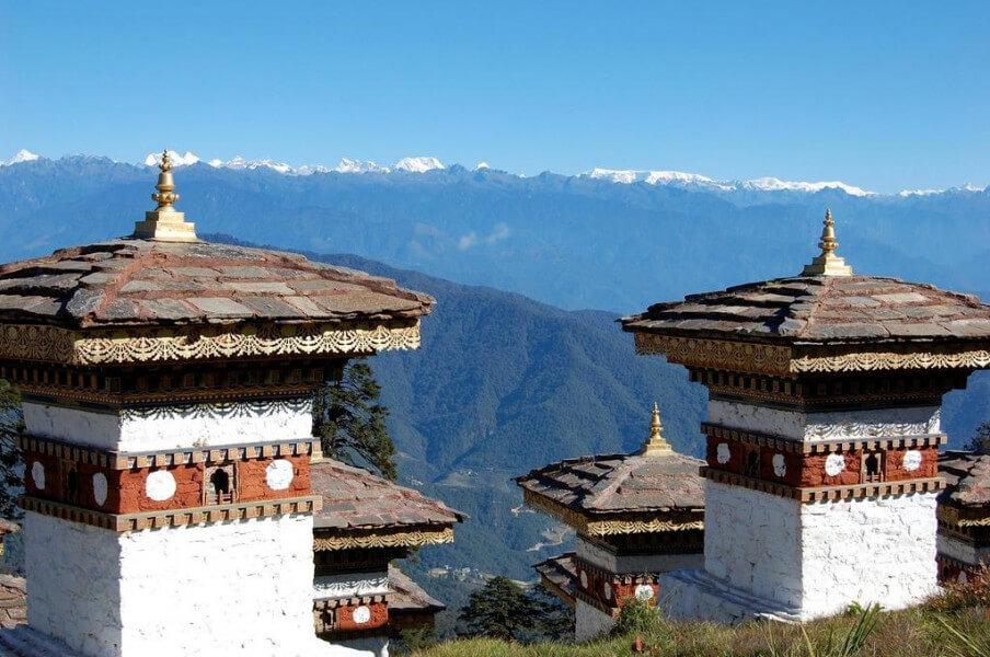 Drive to Punakha / Wangdue