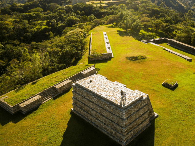 "Archaeological site  ""MIXCO VIEJO"""