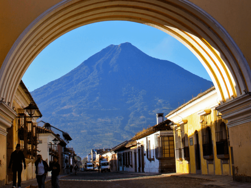 Afternoon in ANTIGUA GUATEMALA