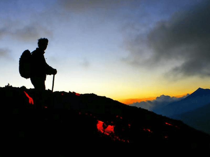 Climb the PACAYA VOLCANO
