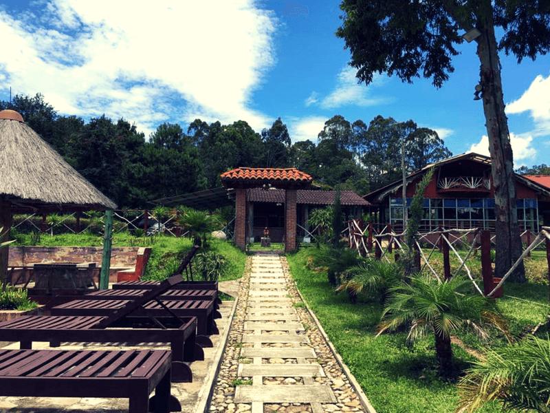 Barbecue at the XEJUYÚ FARM RESORT