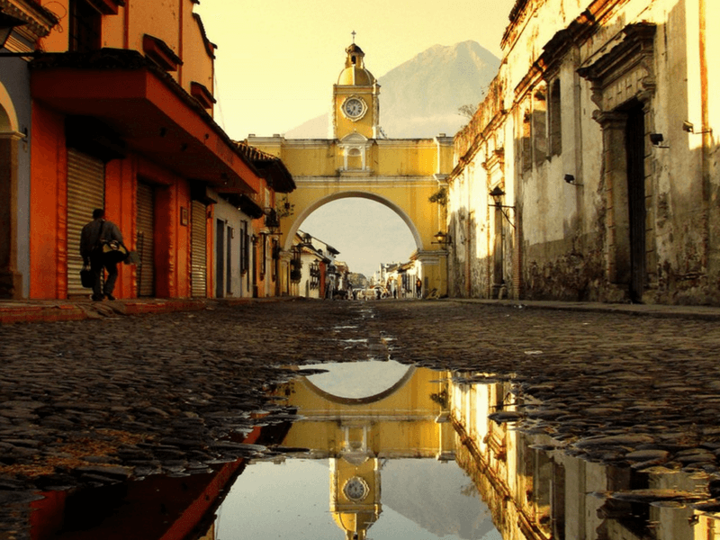 Afternoon in ANTIGUA GUATEMALA
