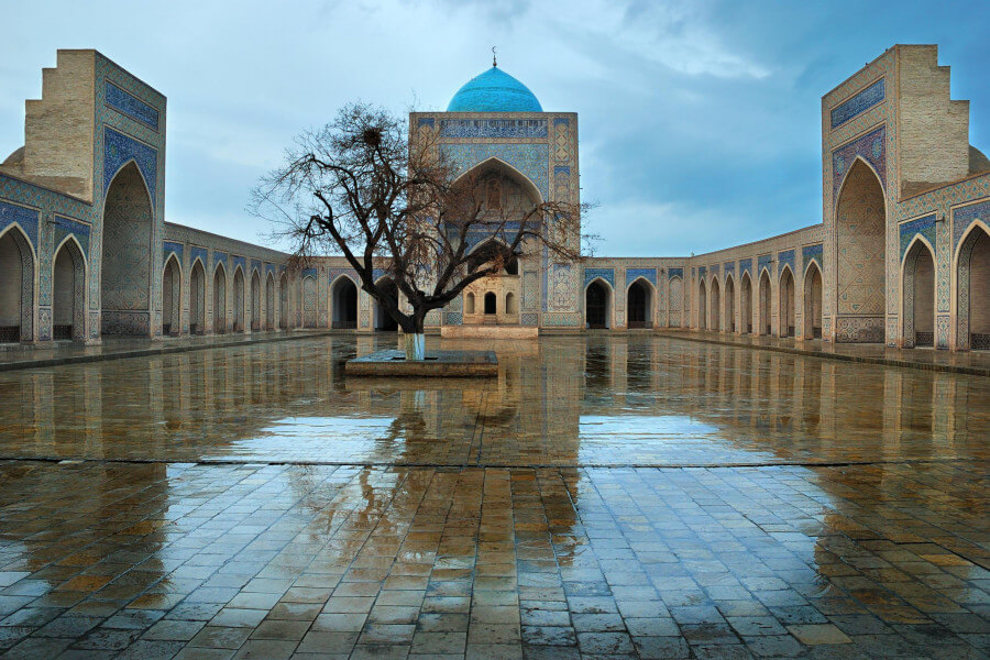 Magic places of Uzbekistan