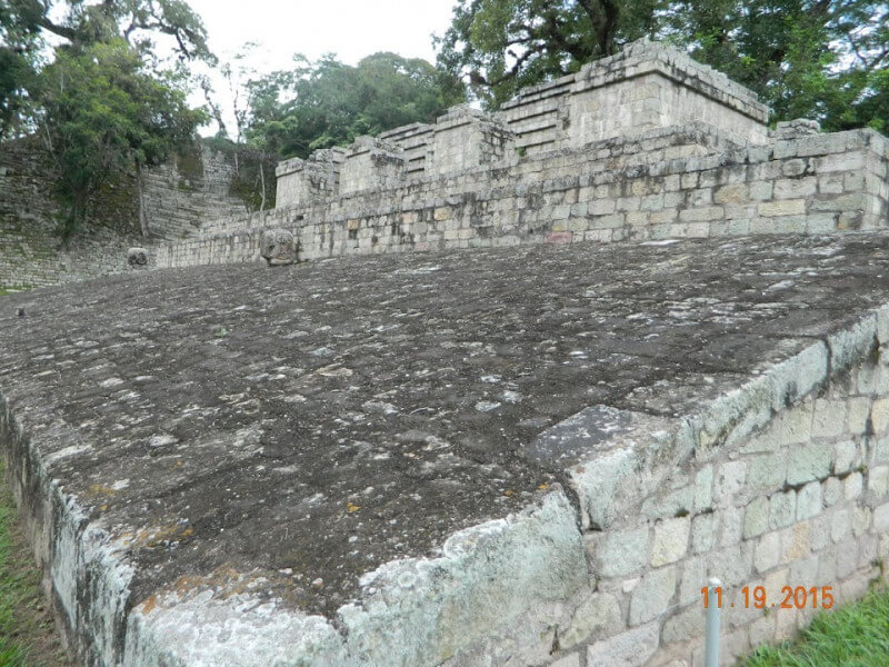 Visit to the Mayan City of  Copan, Hond