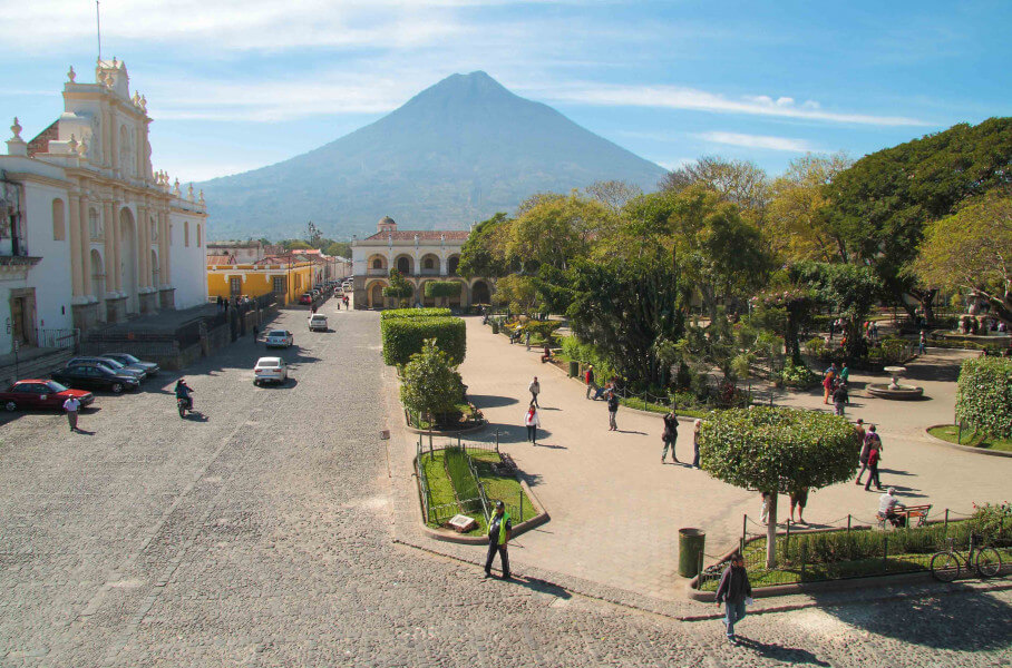 Visit to the City of Antigua Guatemala
