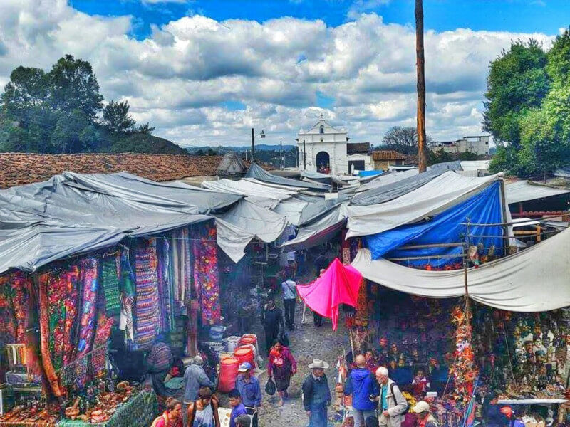Journey to Chichicastenango Mayan Market