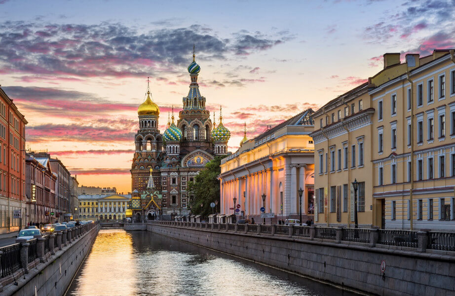 ST. PETERSBURG AND RUSSIAN REVOLUTION