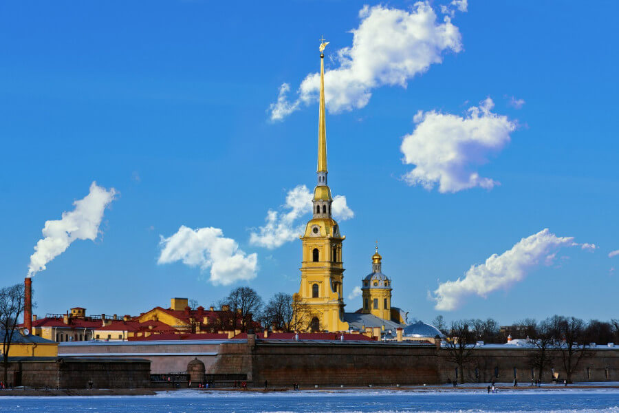 City tour & Peter and Paul Fortress