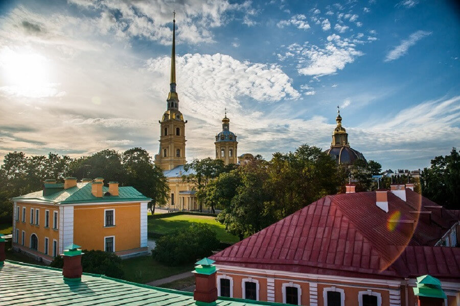 ST. PETERSBURG AND NOVGOROD