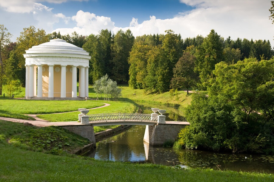 Pushkin and Pavlovsk