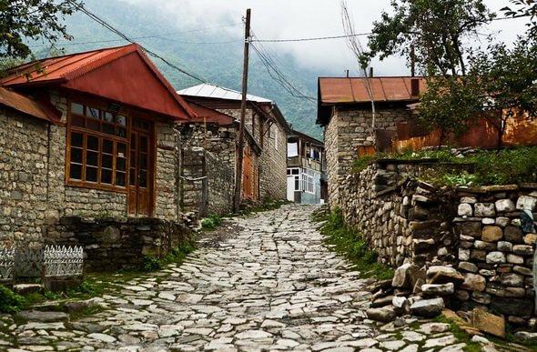 """Sheki - Gabala - Ismayilli"" route"