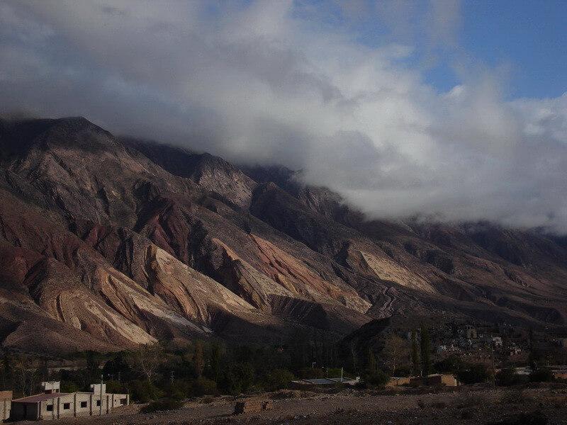 Mountains and Salt Flats