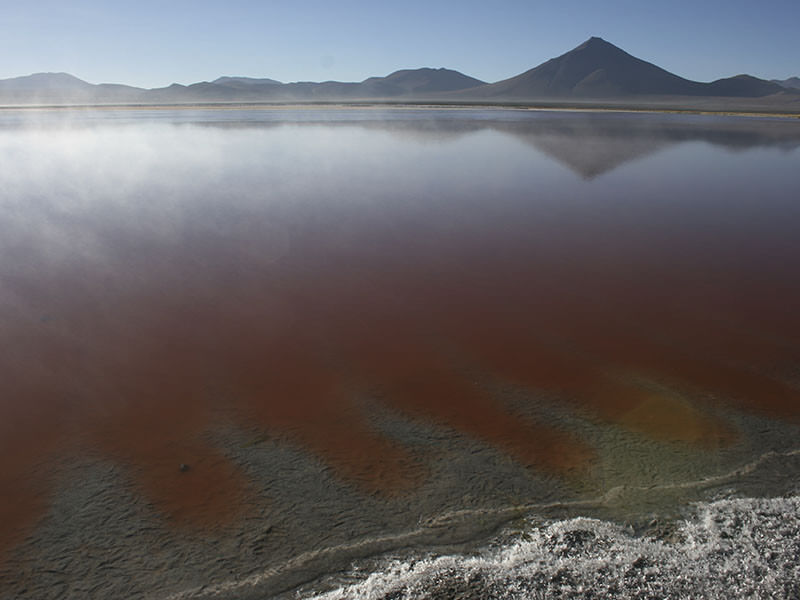 Geysers and coloured lakes