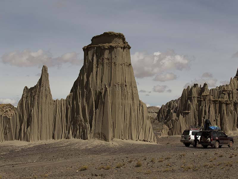 Ancient villages and ghost towns