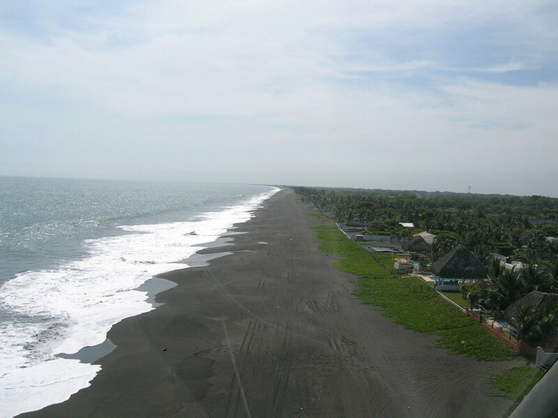 Monterrico beach and optional visits