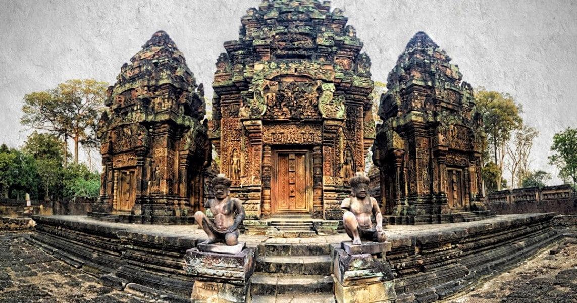Siem Reap - Visite Temple