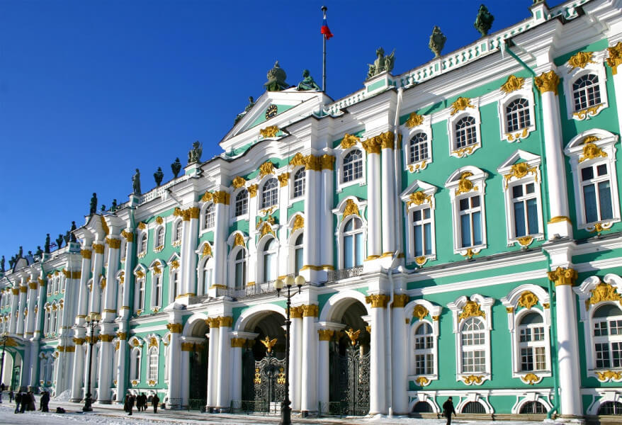 The Hermitage & Menshikov Palace