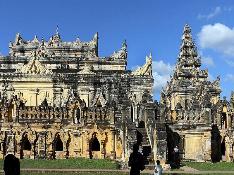 Mandalay– Sagaing– Inwa (Ava) – Mandalay