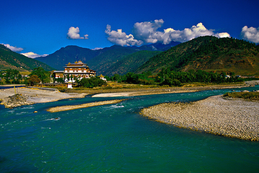 The White Water Rafting Tour - Explore Bhutan through snow melted rivers