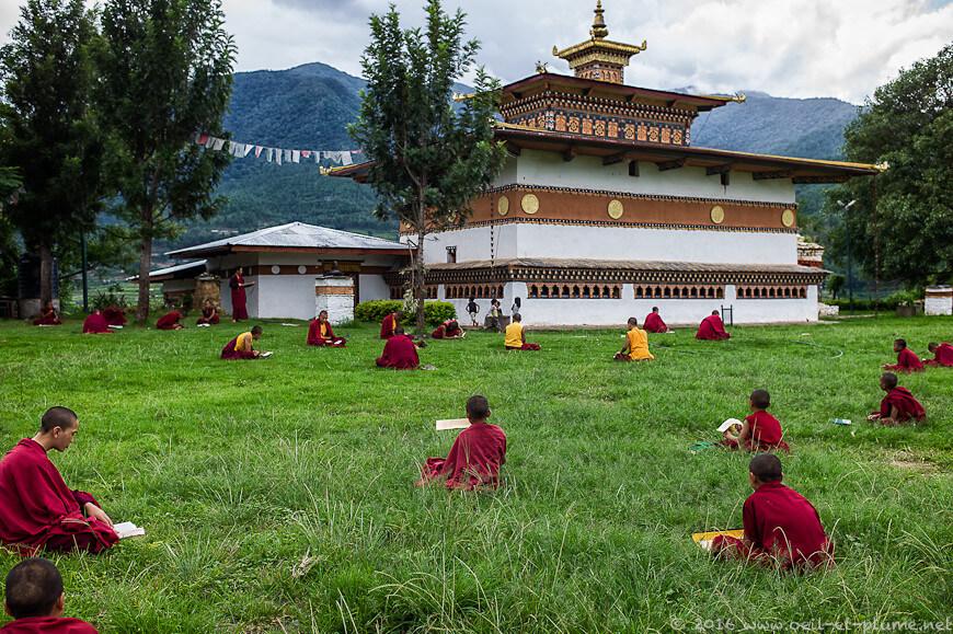 The Bhutan Honeymooners drive to Punakha