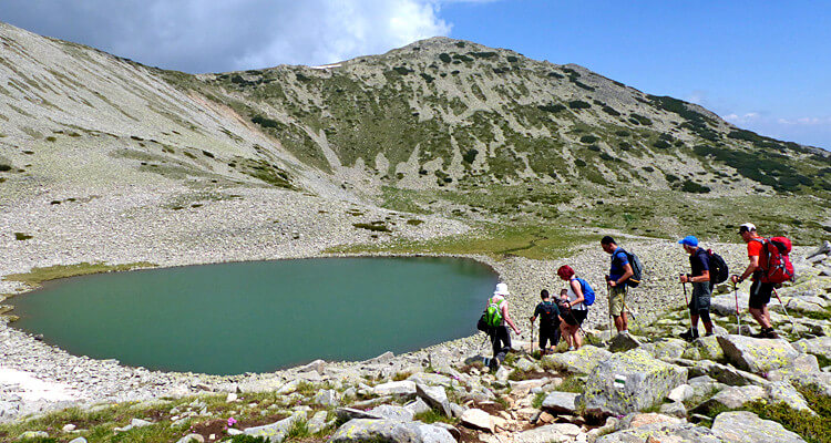 Peaks and lakes of the Pirin and Rila mountains