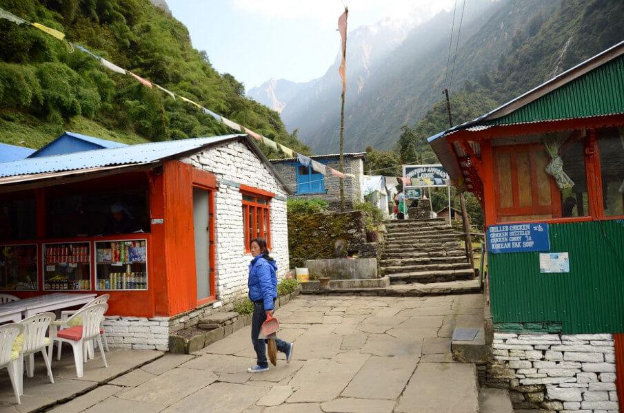 Trekking the Annapurna Base Camp