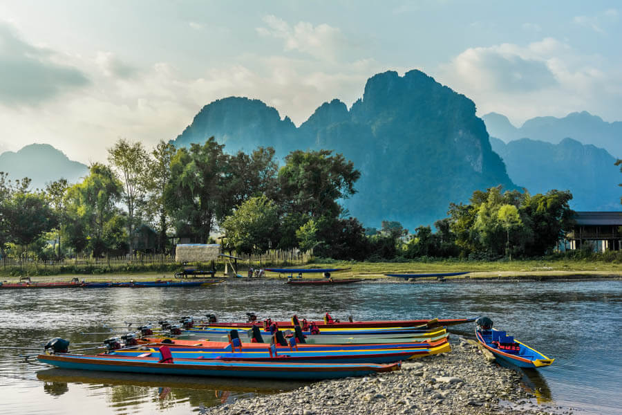 Along the Mighty Mekong to 4000 islands