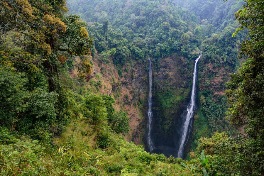 Fly to Pakse, Bolaven Plateau