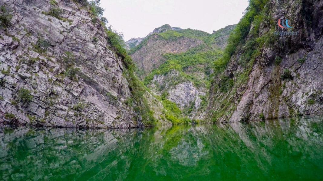 Coming back though Koman Lake