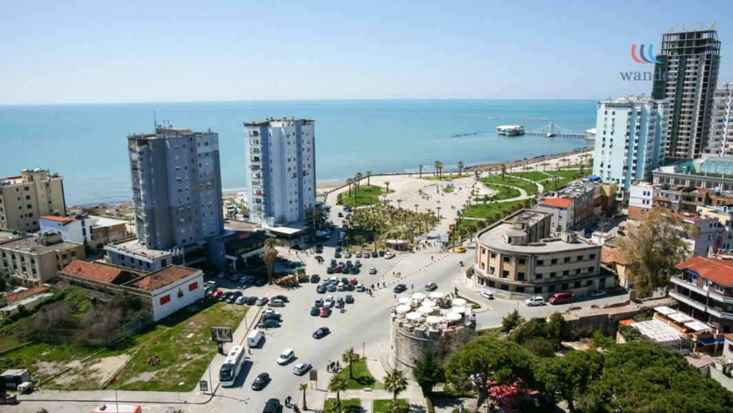 Durres and Tirane